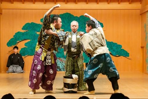 2014/04/12渋谷の夜狂言「茶壺」